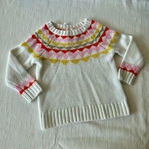 Cat & Jack Fair Isle Sweater Size 18 Month